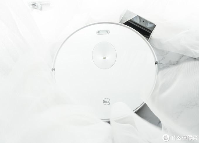 苏宁极物小biu智能扫地机人V6开箱体验,清洁能力如何?