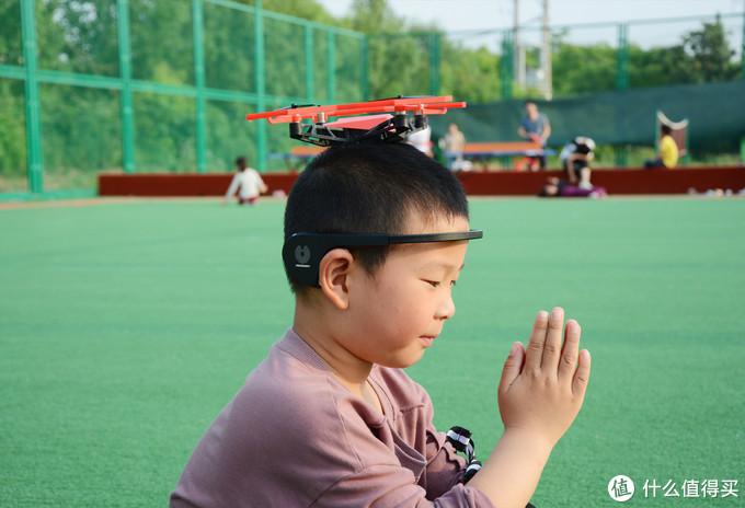 锻炼儿童的专注力,靠意念操控,UDrone意念无人机上手测评