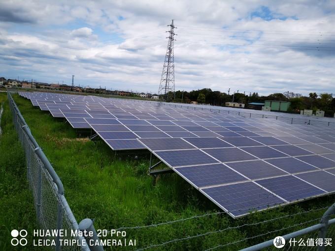 茨城境内有很多太阳能发电