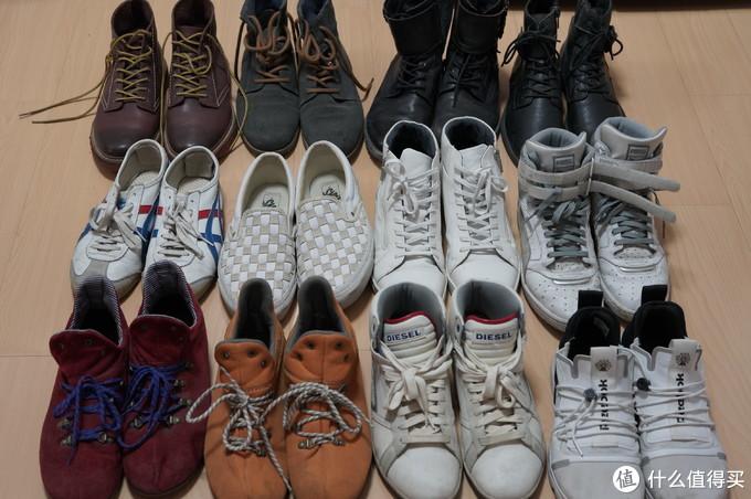 有个蜈蚣党的穿鞋体验