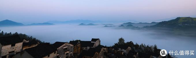 早上5点半的云海