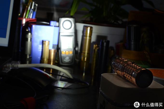暗夜精灵 把玩精品——ACEBEAM TK16红铜手电
