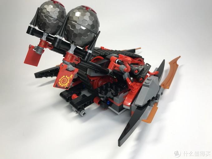 618乐高购买录:幻影忍者系列 70624 红蛇投石履带战车