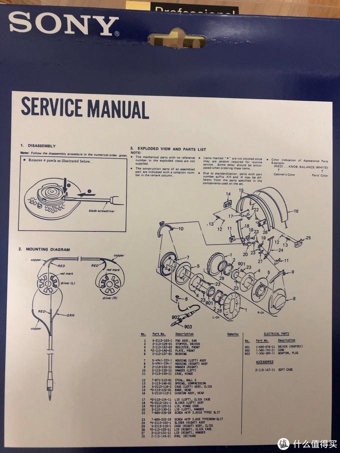 索尼 MDR-7506 耳机 音质评测