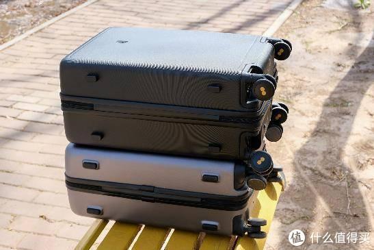 地平线8号(Level8)登机箱 PK 小米90分旅行箱体验测评