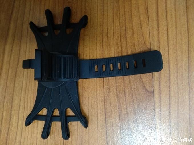 这是安装的橡胶扎带