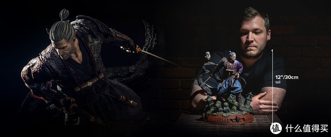 """重返游戏:CDPR推出《巫师》""""浪人杰洛特""""雕像"""