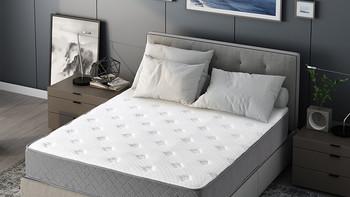 际诺思 加厚天然乳胶独立弹簧床垫总结材质(性价比|舒适性|耐用性|健康性)
