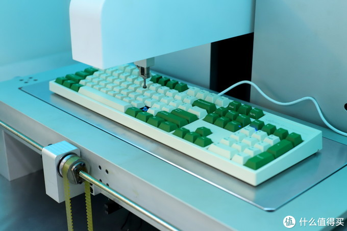 口味型青轴,LEOPOLD白绿限量版(青轴)手感测试