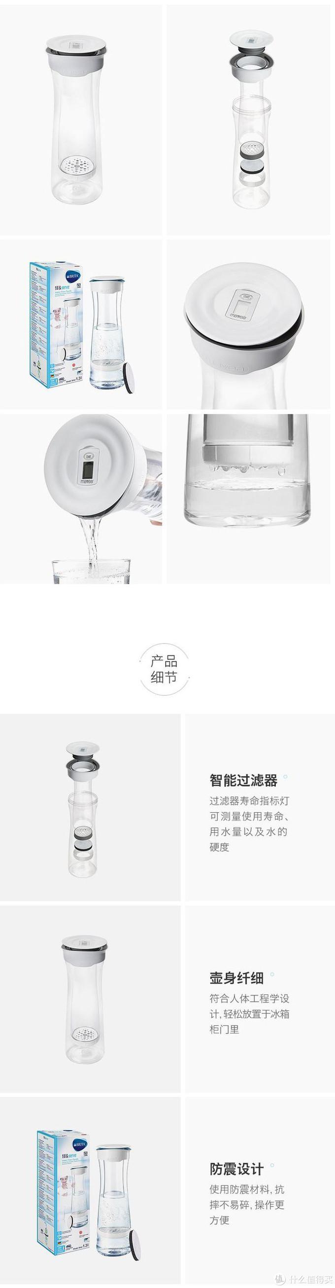 水壶虽小但是功能一点都没少,碧然德经典的水芯计时器功能依然沿用