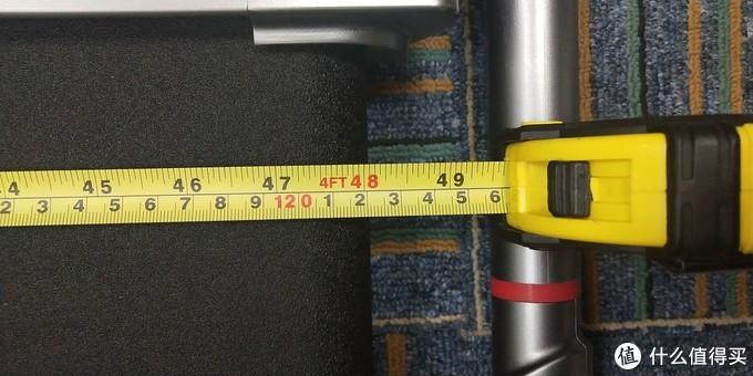 (跑带长度:122cm)