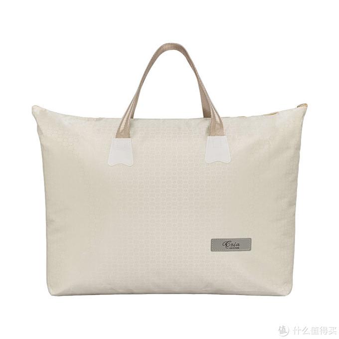 被子的包装袋完全可以用来做大的包包,特别精致