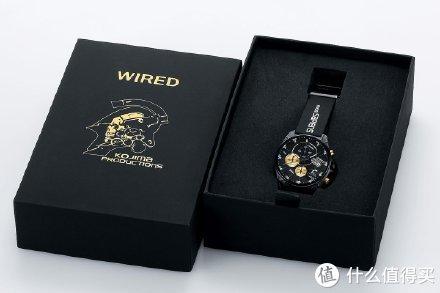 重返游戏:小岛秀夫工作室联动WIRED推出限定手表!
