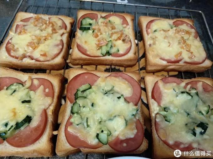 芝士烤面包片
