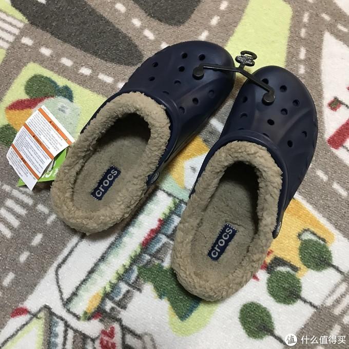 Crocs Baya Lined 加绒洞洞鞋