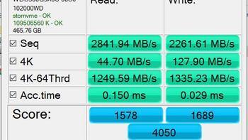 西部数据 Black系列 SN750 M.2 NVMe 固态硬盘体验读写(温度|性能)