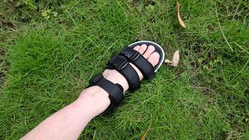 FREETIE弧形搭扣凉鞋使用体验(舒适度|做工)