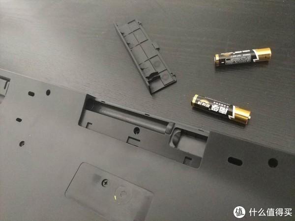 键盘与鼠标一样,支持两颗7号电池