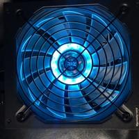 迎广PB650W电源使用体验(灯光|配置|功耗|温度)