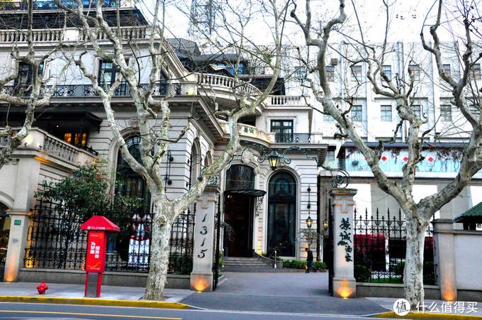 在上海梧桐树下的大道溜溜哒哒