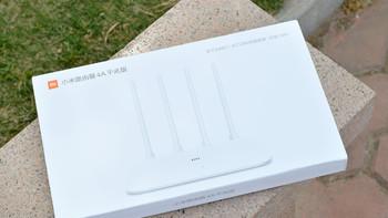 小米路由器4A展示指示灯(WAN口|散热孔)