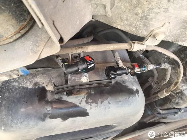 宝骏310 两万九千公里自己动手更换燃油滤清器