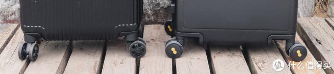 1500元的轮子居然被299元吊打:地平线8号 VS 新秀丽DK7 旅行箱