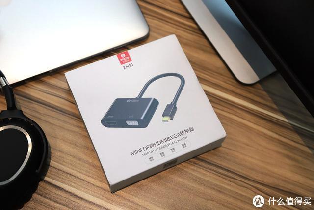 苹果本轻松接大屏,毕亚兹雷电接口转HDMI/VGA转换器评测
