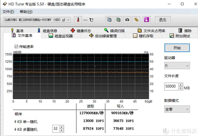 HD tune文件基准