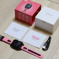 搜狗糖猫JOY2儿童手表外观展示(屏幕|摄像头|按键|充电线|表带)