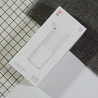 米家自动洗手(液)机细节介绍(电池|标签|抽取口|材质|泡口)