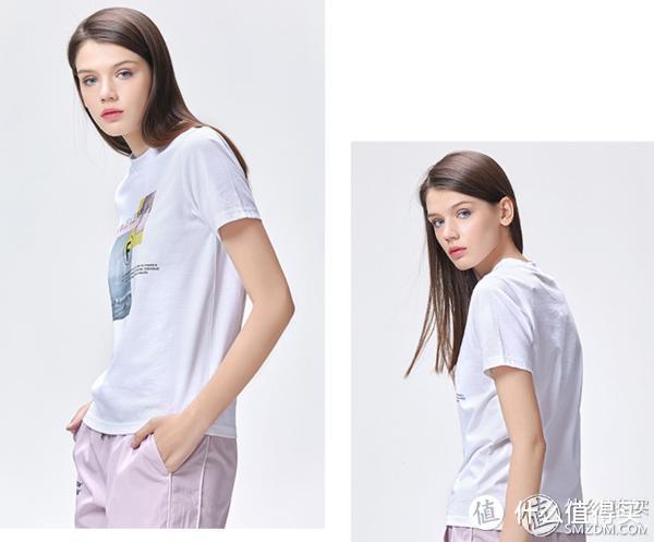 简约大气充满小美好的舒适T恤 您心动了吗?