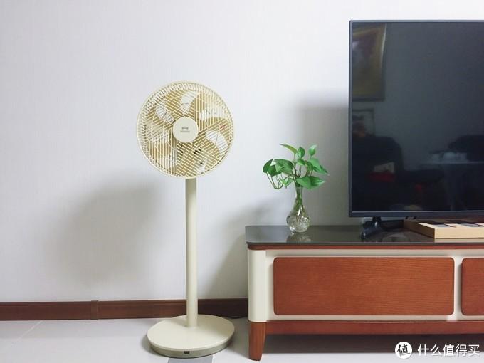 炎夏将至,嫌空调风太硬?为女王大人送上一份清凉自然风—BRUNO复古智能循环扇