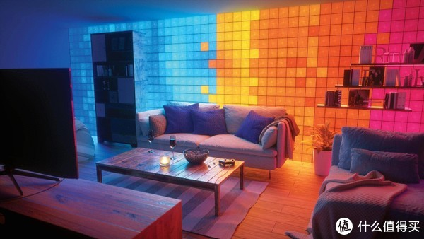Nanoleaf智能方块灯,儿童房有它秒变彩虹屋