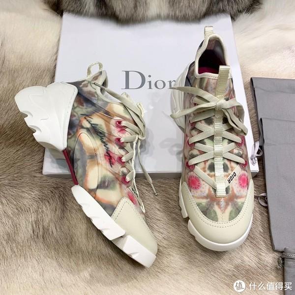 迪奥dior万花筒运动鞋!19春夏系列实拍种草!