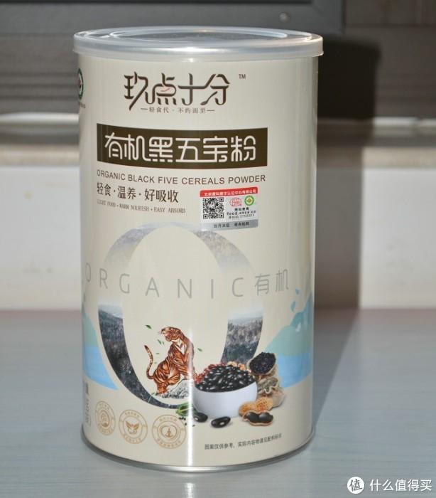 上班族和减肥族的优选——玖点十分 有机黑五宝营养好味代餐粉