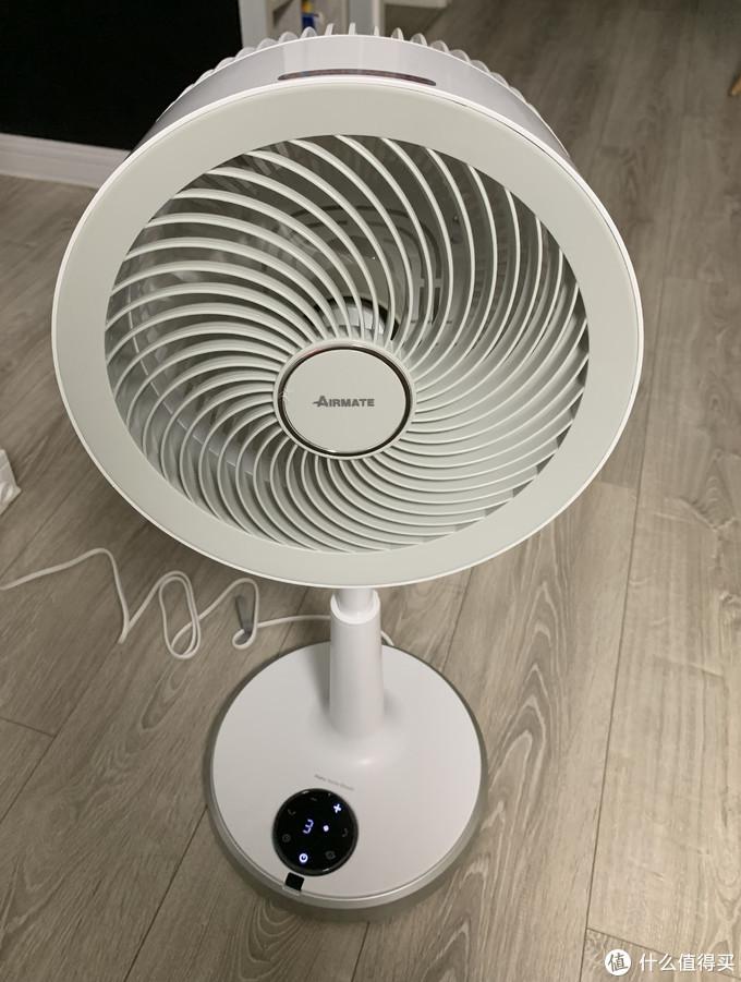 空气不流通?你需要一个工业循环扇。米家版艾美特空气循环扇 CA23-AD9首测