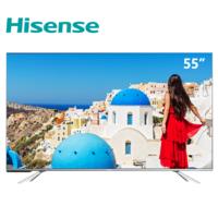 《到站秀》第258弹:真智能+好画质带来畅快体验 海信AI声控全面屏电视HZ55E5D打造客厅娱乐核心