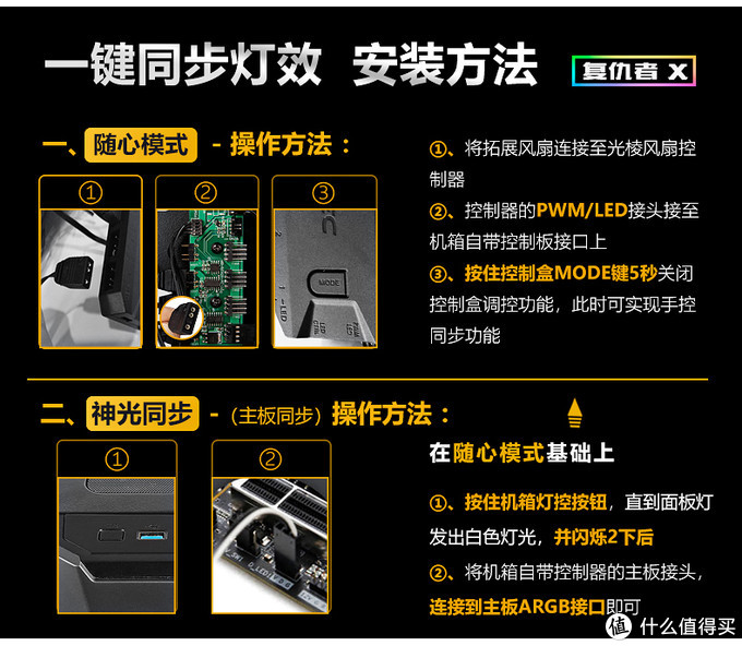 玩一把RGB风格--安钛克 复仇者X DA601机箱装机篇