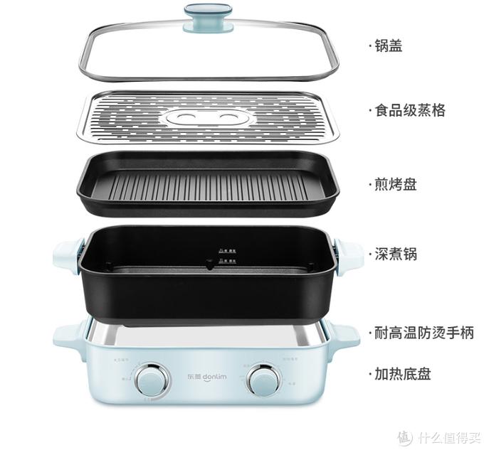 多功能料理锅的大蛋糕,我也要来分一块:站在巨人肩膀上的再设计,东菱多功能锅评测