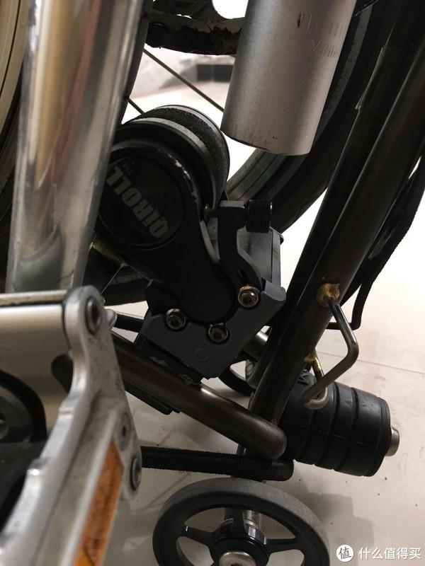 原本只想增驾摩托,最后却改了电助力小布brompton