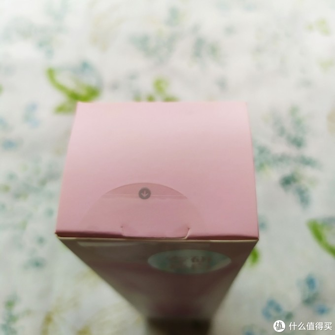 盒子顶部透明圆形易撕封口贴