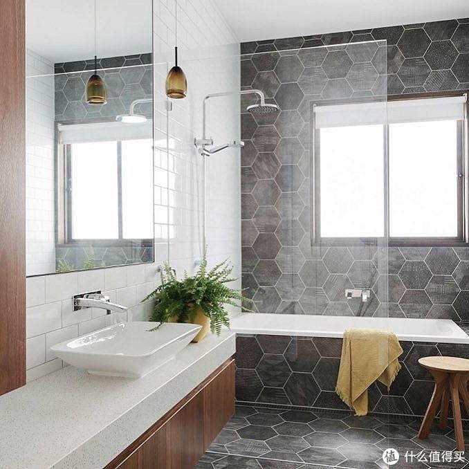 想要高颜值浴室,用用用用墙砖啊!!!