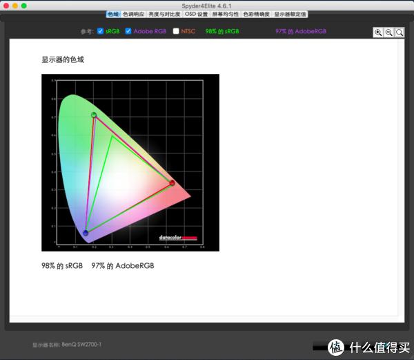 明基SW2700PT专业显示器开箱测试