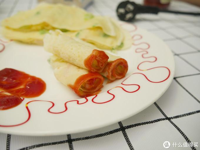 宝宝爱吃、妈妈易做的虾仁薄饼制作小记(大人可蘸酱吃)
