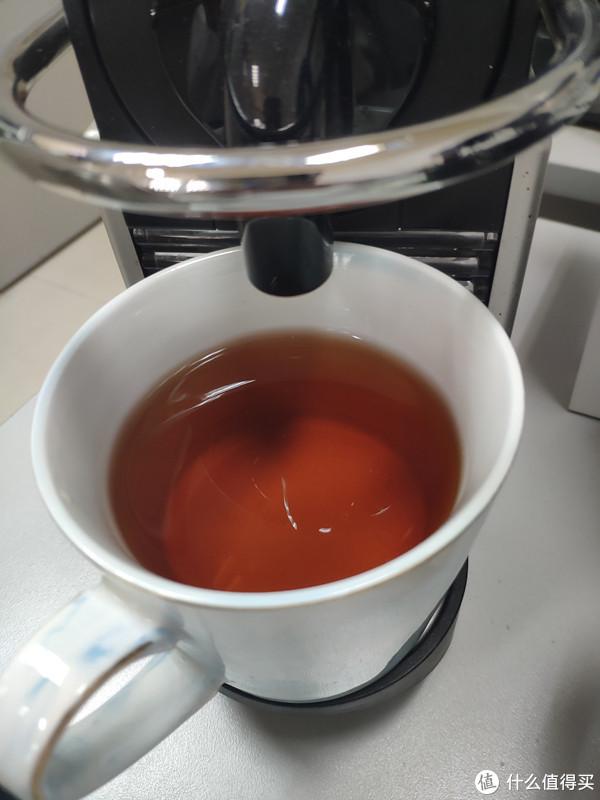 茶水准备好就可以上咖啡机啦