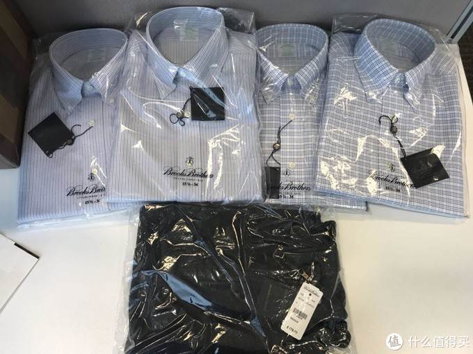 Brooks Brothers西装套装+衬衫+羊毛衫