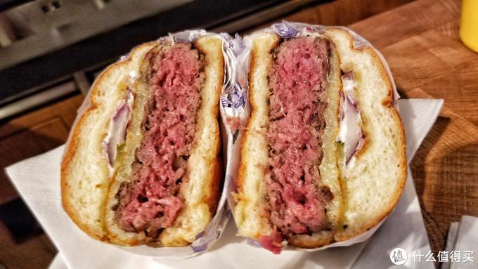 纽约餐厅的40天干式熟成汉堡