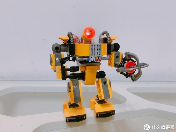2019年最值得入手的乐高创意百变?我首推31090水下机器人!