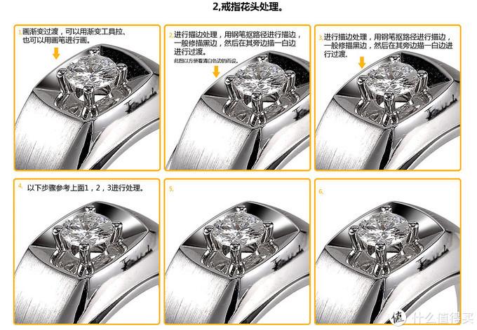 企业网站图片ps设计制作:解析精修高清钻戒电商图片的PS方法